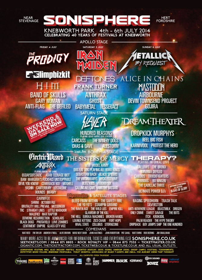 Image courtesy of Sonisphere