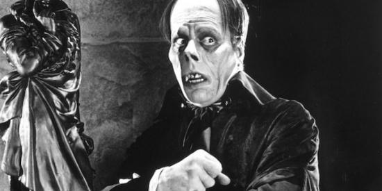 Lon Chaney in Phantom of the Opera, 1925.